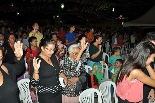 Show Gospel faz Abertura da festa em Santo Antônio