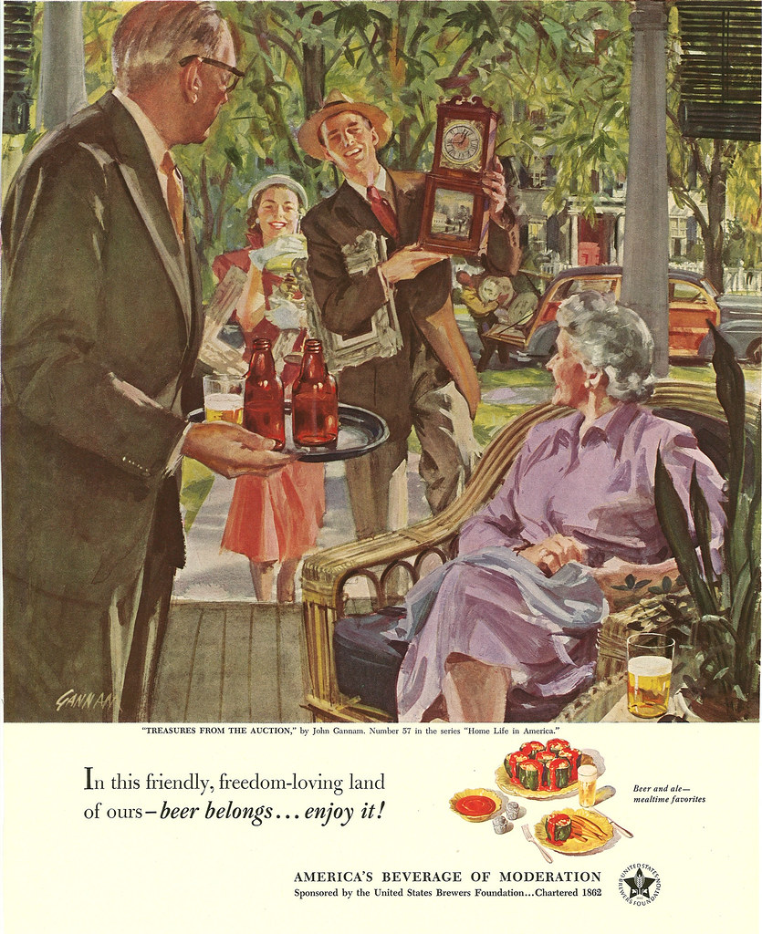 057. Treasures From the Auction by John Gannam, 1951