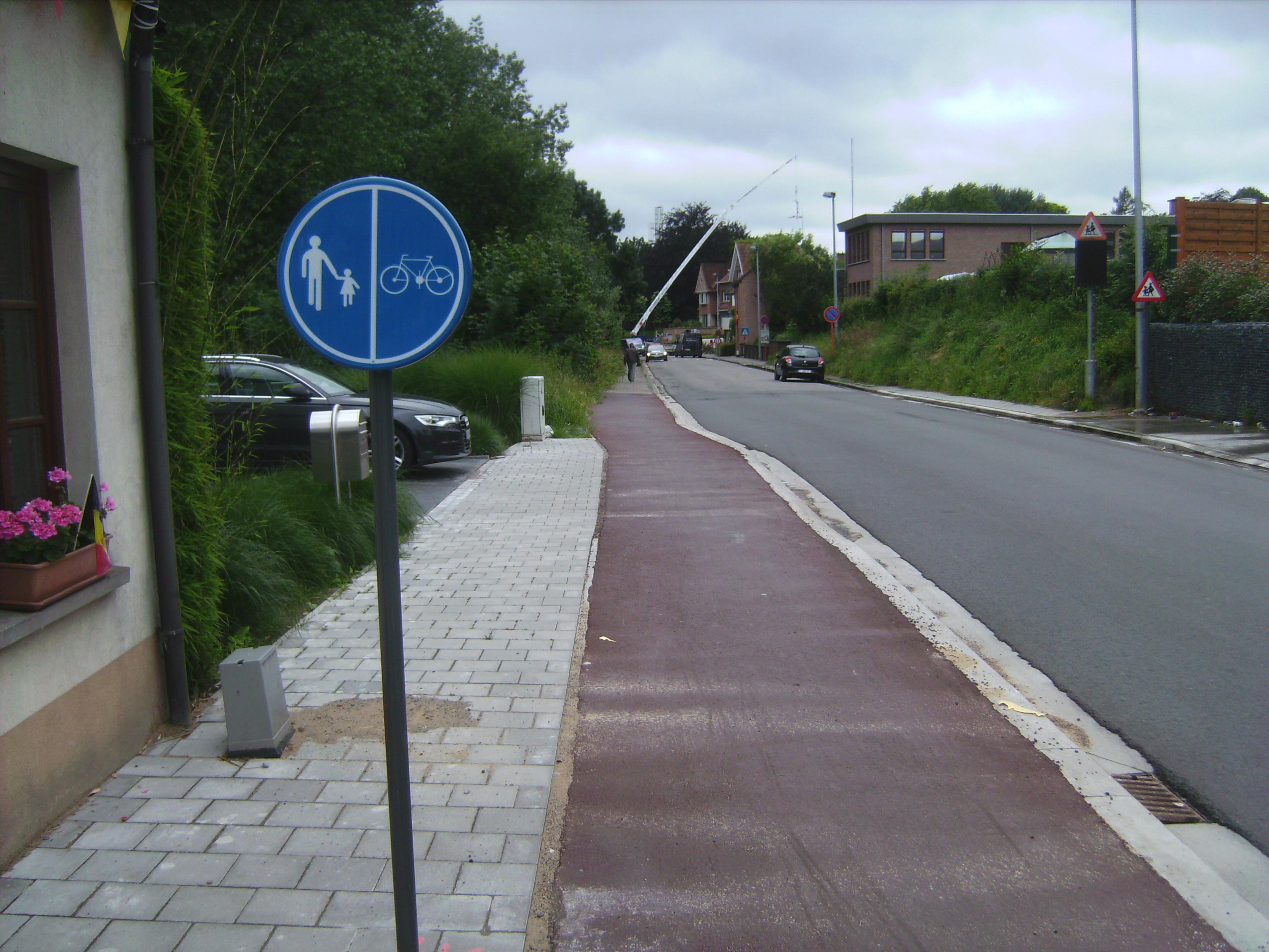 verkeersbord deze richting
