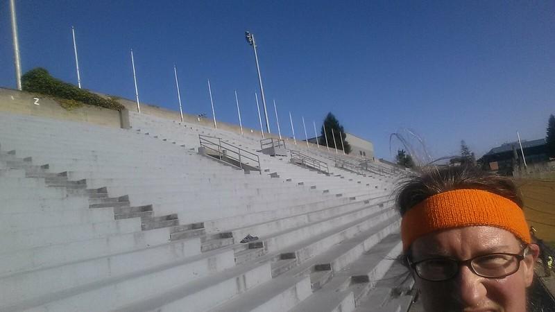 Stadium benches at UC Berkeley