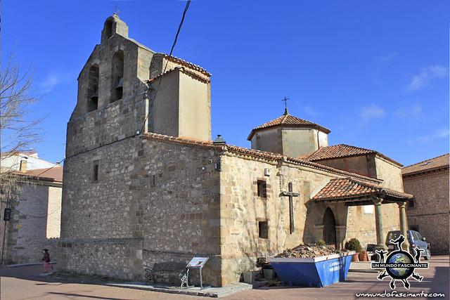 Iglesia Nª Sra. Minerva, Selas (Guadalajara, Castilla-La Mancha. España)