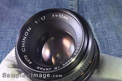 Auto Chinon 55mm f/1.7
