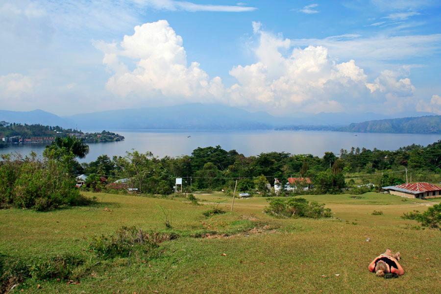 Lake Toba maisema