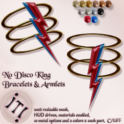 !IT! - No Disco King Bracelets & Armlets Image