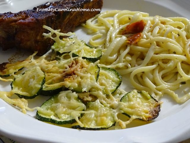 Garlic Zucchini | From My Carolina Home