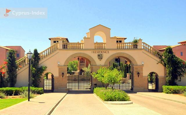 Въездные ворота , The Residence, Лимассол, Кипр