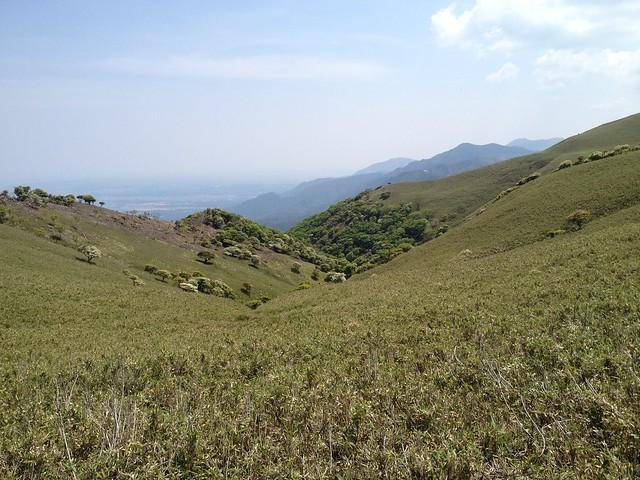 竜ヶ岳 遠足尾根より南