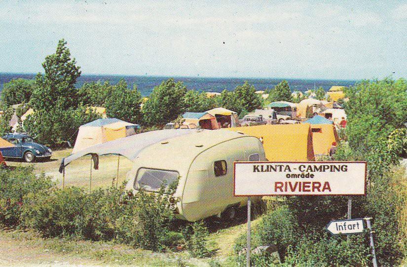 Klinta camp Öland Sweden 60s