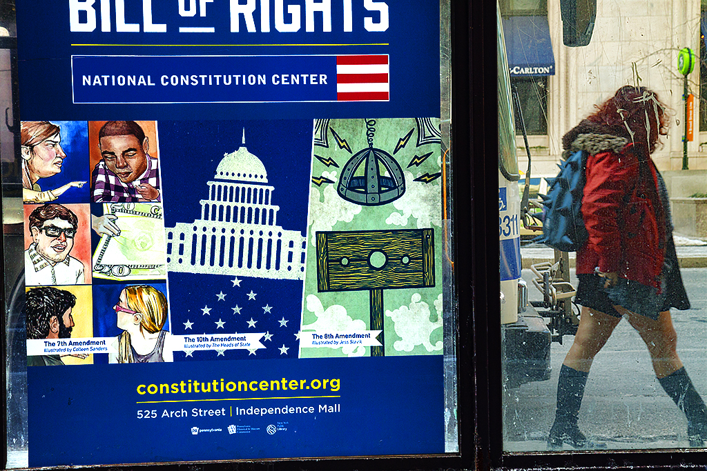 Bill-of-Rights-poster-at-bus-stop-on-2-10-15--Center-City