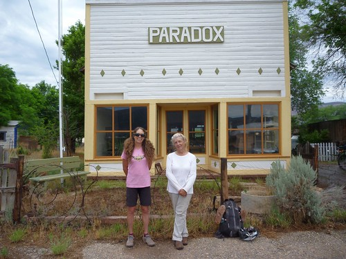 Ilana and Marty at the Paradox Store