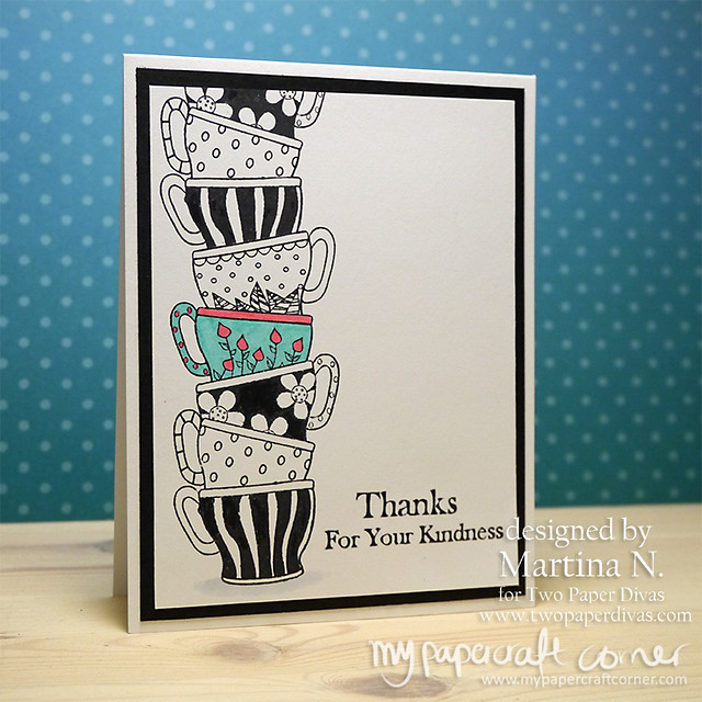 Thank you card - Card #448