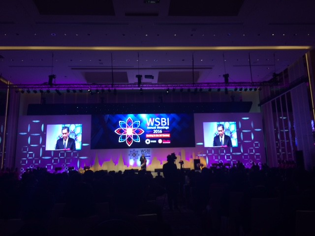 WSBI Bankgok 2016