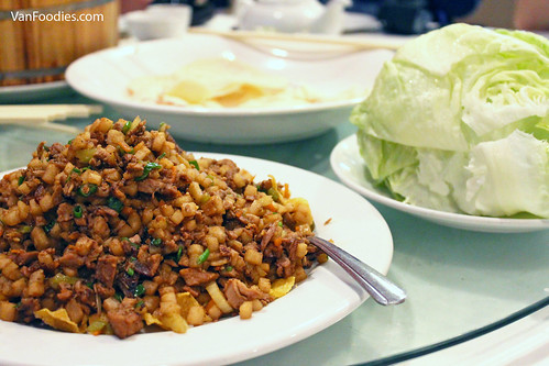 Lettuce Wrap with Duck Meat 生菜包
