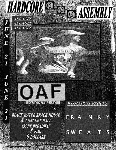 6/21/16 Oaf/Franky/Sweats
