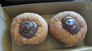 Notella Doughnuts from All-Time Coffee