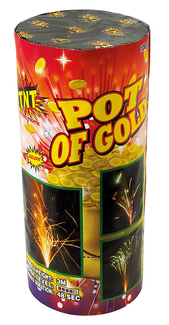 Pot of Gold Fountain by TNT Fireworks