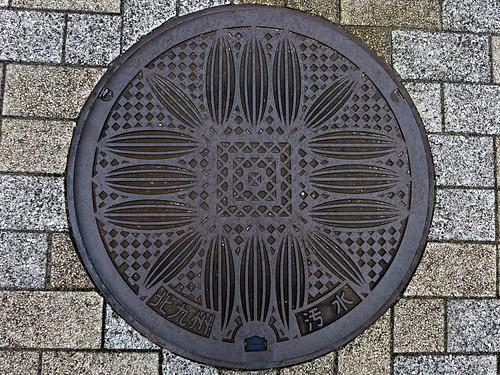 Kitakyushu Fukuoka, manhole cover (福岡県北九州市のマンホール)
