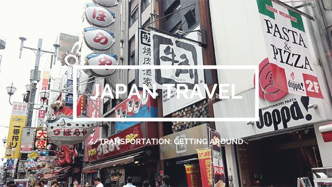 japan travel budget transportation