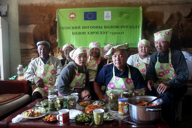 Cooking classes in Mongolia