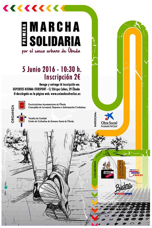 Primera marcha solidaria