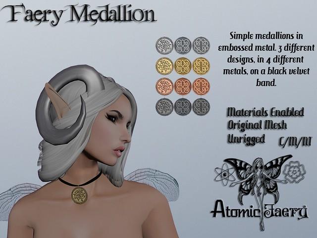 Faery Medallion