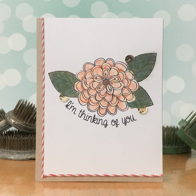 Thinking of You by Jennifer Ingle #JustJingle #SimonSaysStamp #CASualFridaysStamps #LindysGang