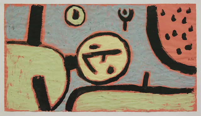 Clown in Bett, Paul Klee, 1937
