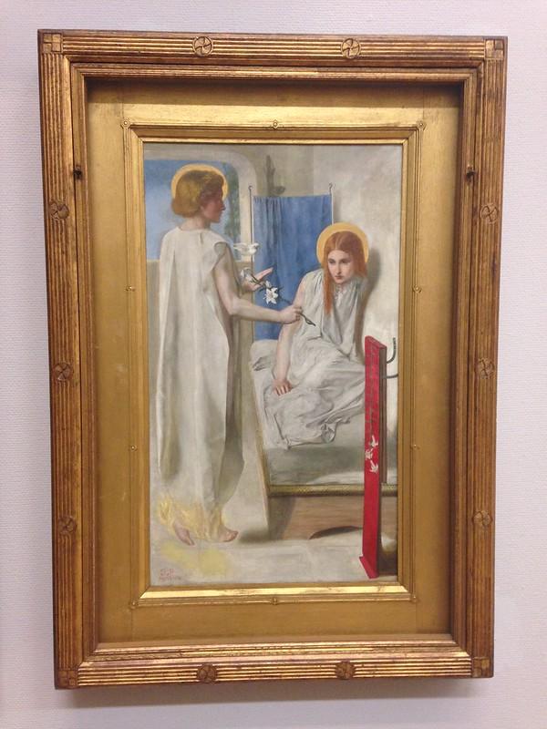 """""""Ecce Ancilla Domini,"""" Dante Gabriel Rossetti"""