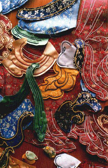 pieces of Guru Rinpoche in progress