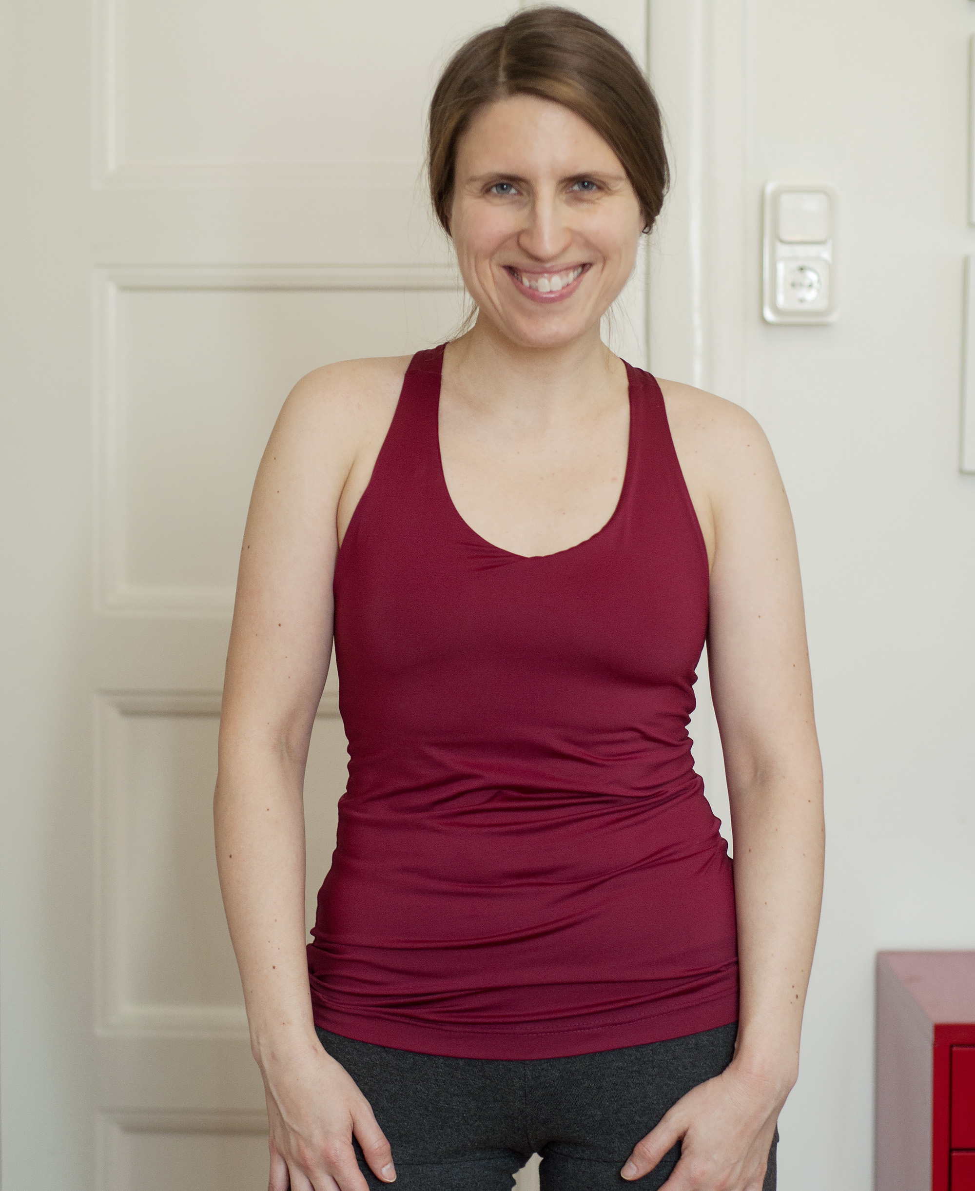 Burdastyle yoga top