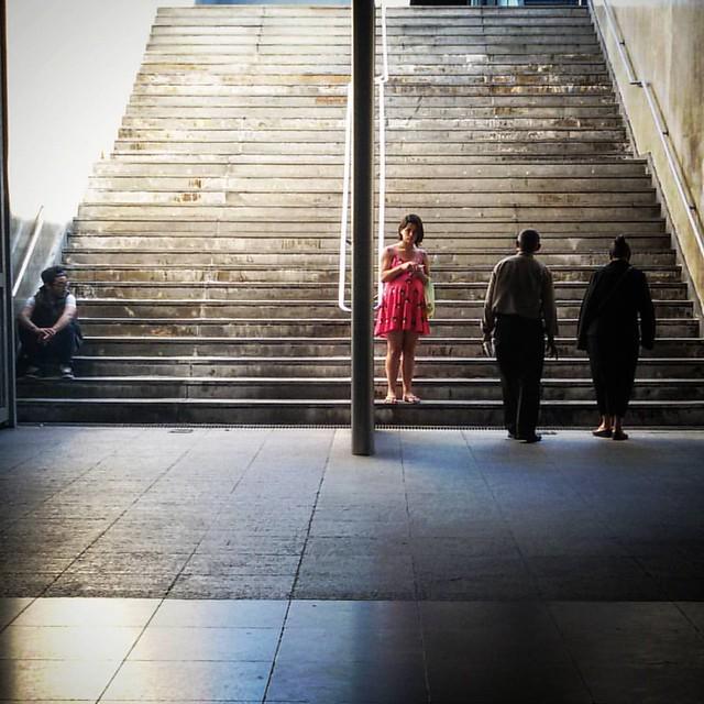 Olhares urbanos e A vida entre retas