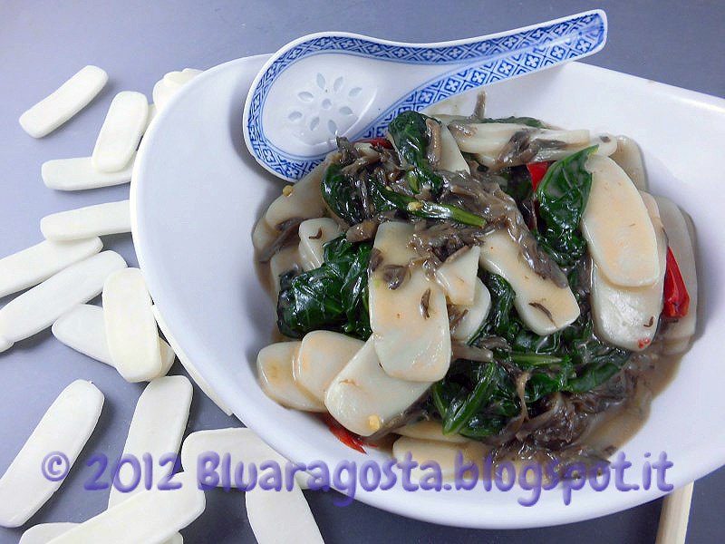 03-gnocchi cinesi di riso con funghi maitake