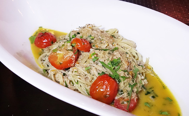 03 Crab Linguini