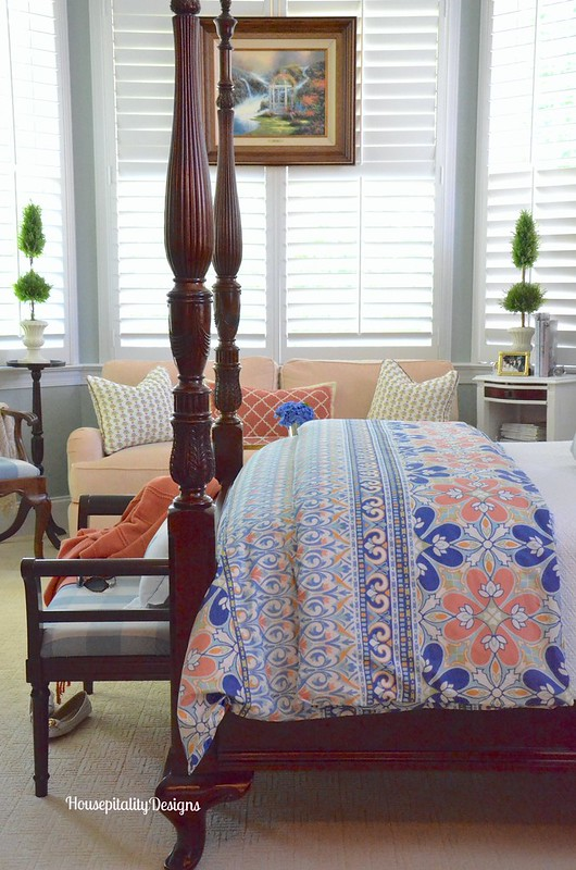 Master Bedroom Summer 2016- Housepitality Designs