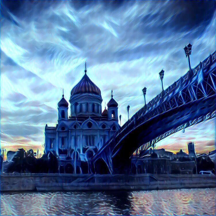 Ночная Москва #москва #moscow #my_love_msk  #msc_today  #russia  #prisma #prismaru #prismaart #prismainsta