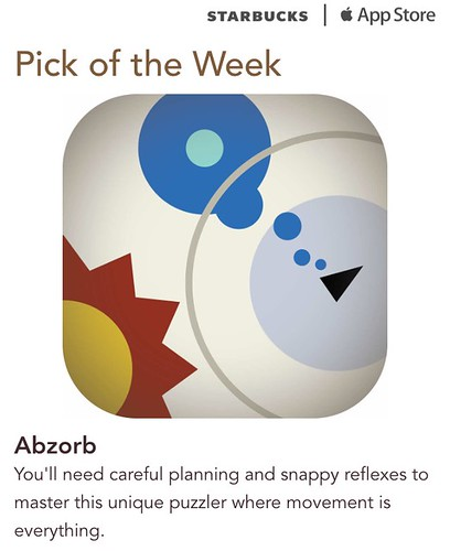 Starbucks iTunes Pick of the Week - Abzorb