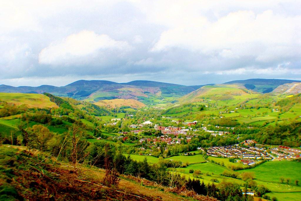 Llangollen, Denbighshire, Wales