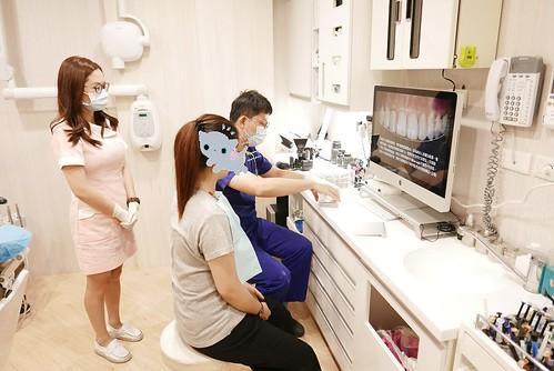 板橋絕美牙醫利用顯微鏡技術,讓我的缺牙不再露臉啦~ (2)