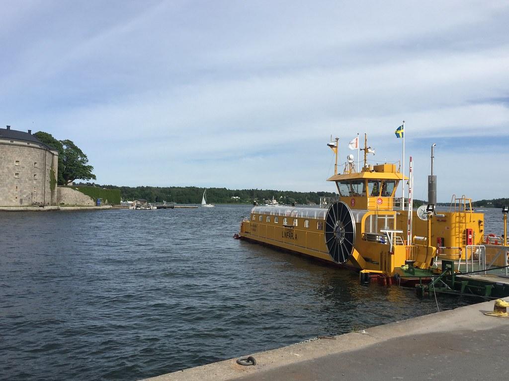 Ledningsmöte i Vaxholm