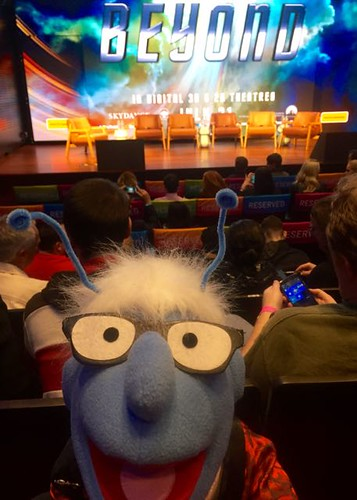 Muppet Therin at Star Trek Beyond