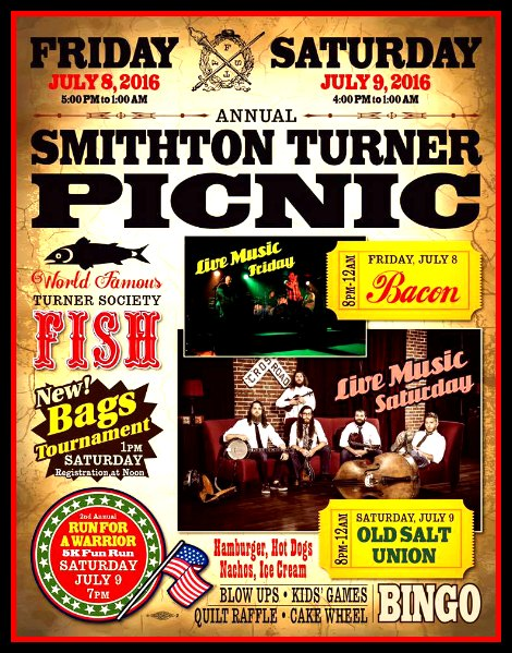Smithton Turner Picnic 7-8, 7-9-16