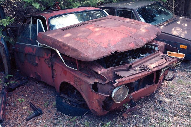 Sad BMW 2002Tii