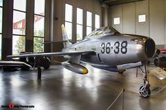 MM53-6892 35-38 - - Italian Air Force - Republic F-84F Thunderstreak - Italian Air Force Museum Vigna di Valle, Italy - 160614 - Steven Gray - IMG_0784_HDR