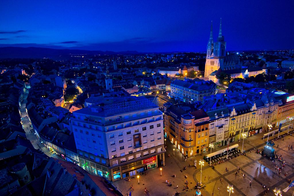 Zagreb from the Eye
