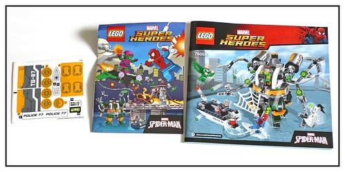 LEGO Marvel Super Heroes 76059 Spider-Man Doc Ock's Tentacle Trap 04