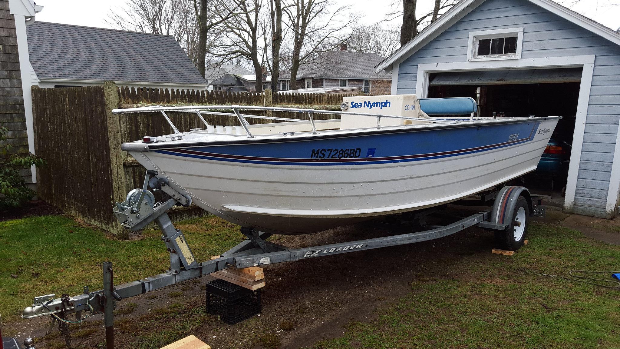 1985 sea nymph cc 191 striper rebuild restore page 1 iboats rh forums iboats com 14 FT Sea Nymph Sea Nymph History
