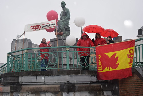 Manifestation 27 avril 2016 Charleroi