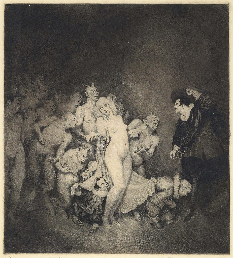 Norman Lindsay - Adventure, 1921
