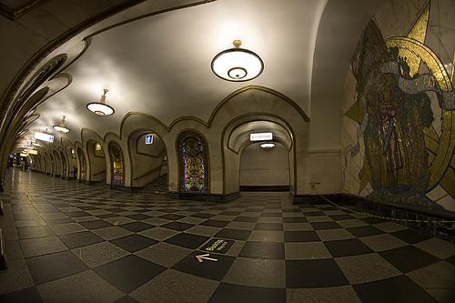 Сокольническая ветка метро опять работает.
