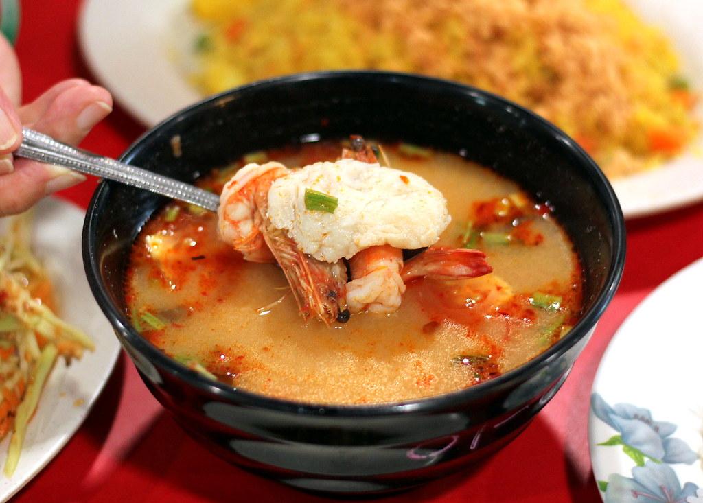 西萨克泰国菜泰国海鲜汤